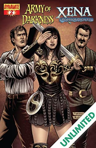 Army of Darkness/Xena: Warrior Princess - Why Not? #2 (of 4)
